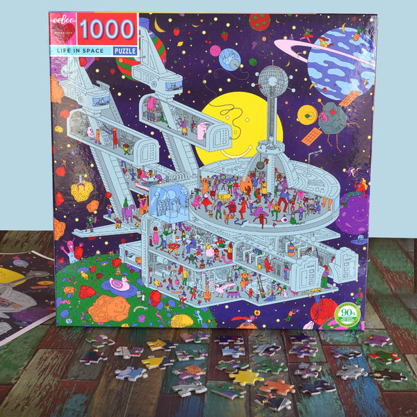 Life in Space Puzzle