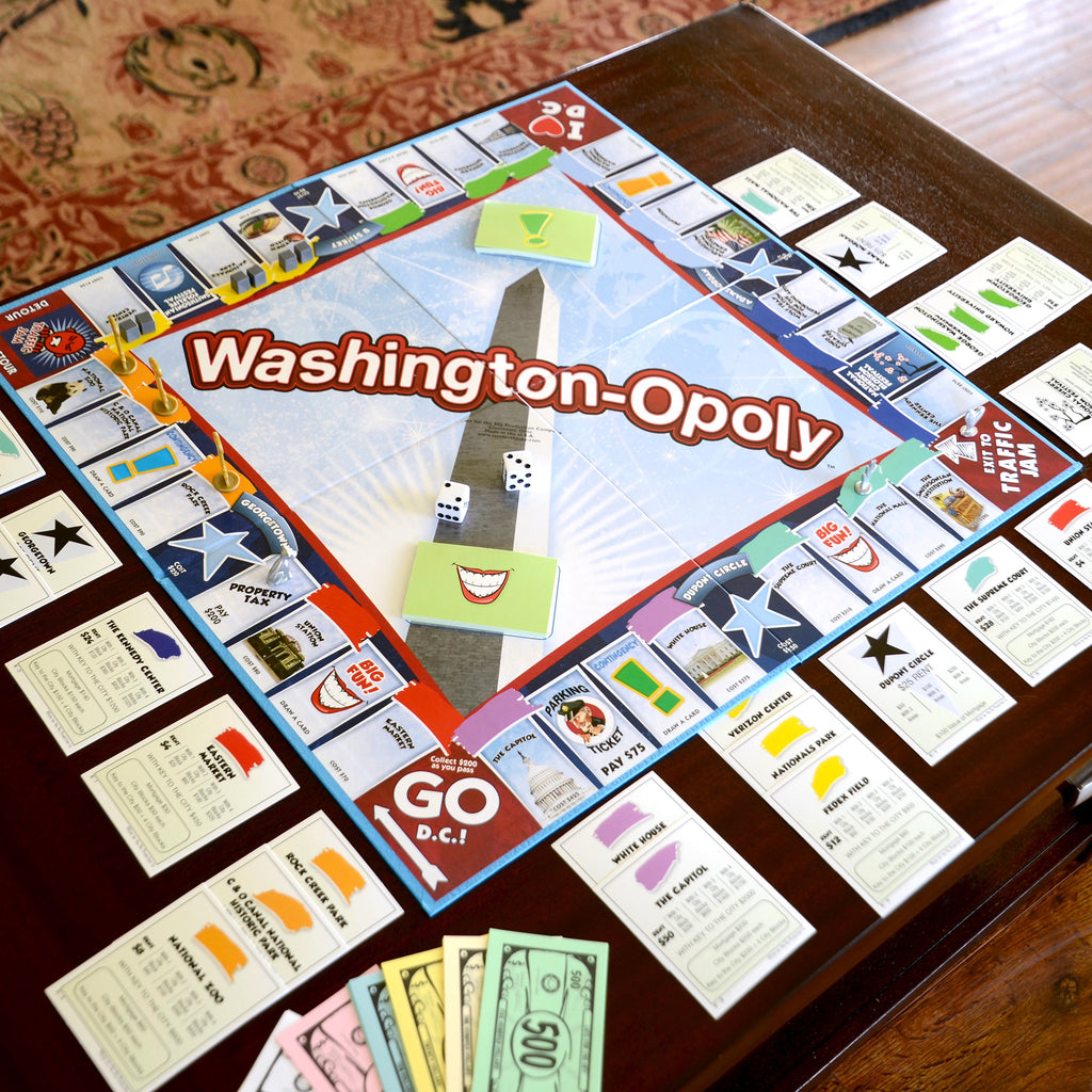 Washington DC-Opoly