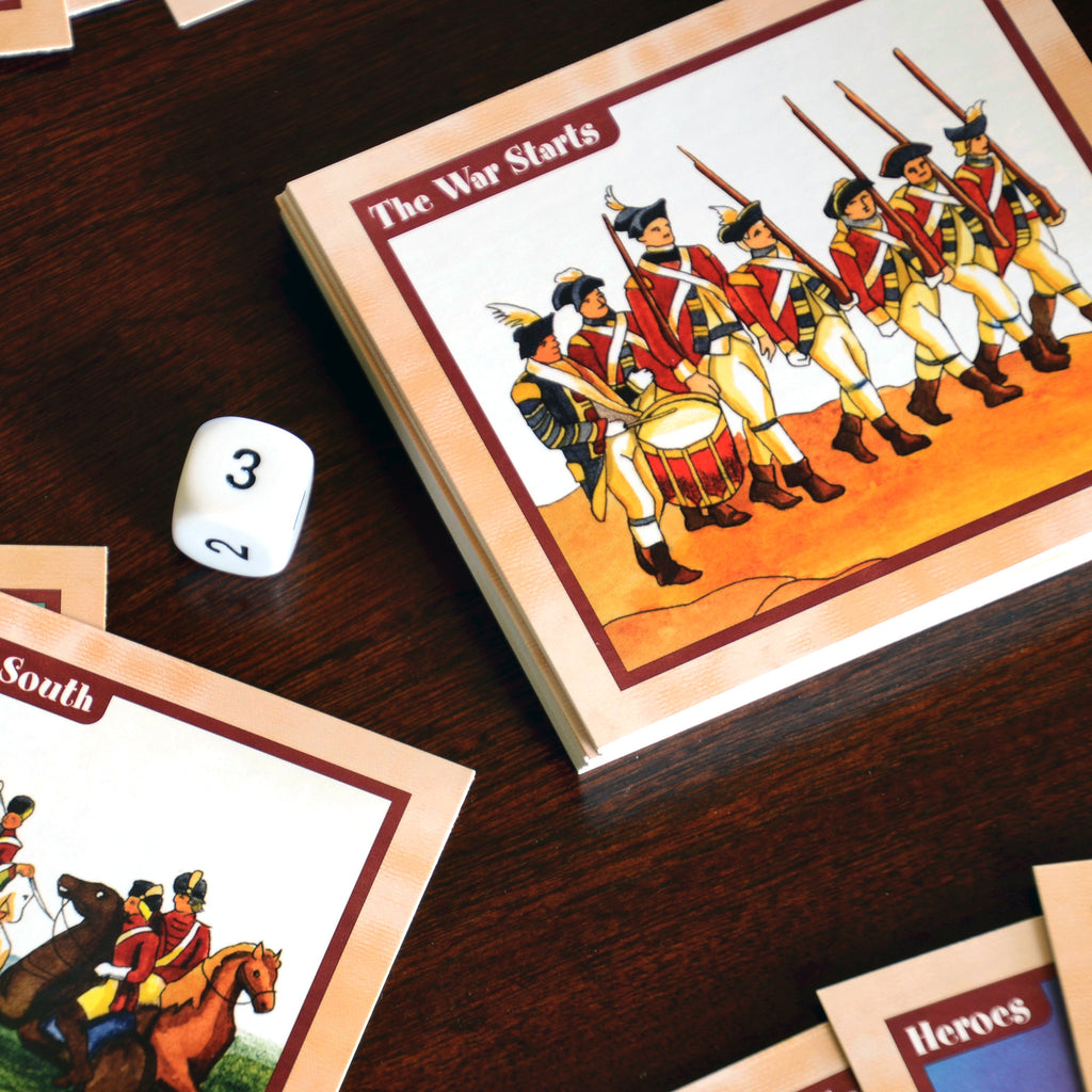 American Revolution Card Game