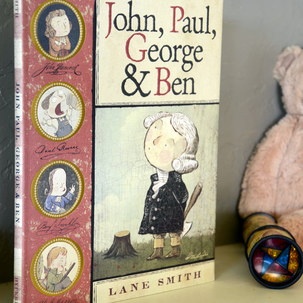 John, Paul, George and Ben Book