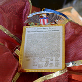 Declaration of Independence Ornament