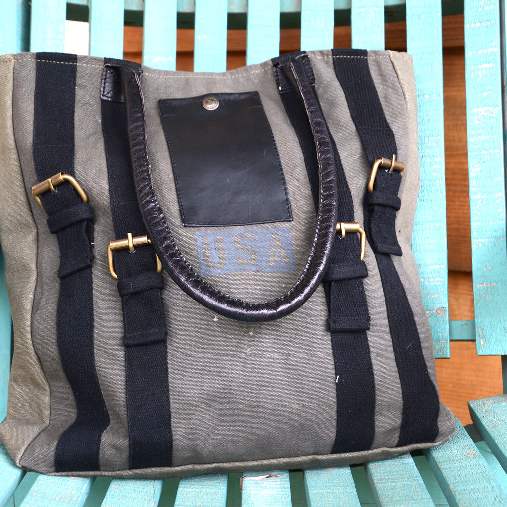 Strapped Tote