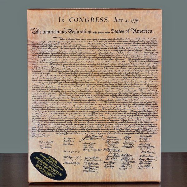 Declaration of Independence 1,000 Piece Puzzle