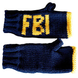 FBI Fingerless Mittens