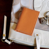 Leather Fold-Over Card Case