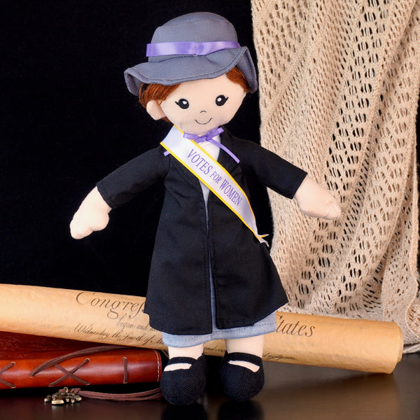 12-inch Suffragist Light Skinned Doll