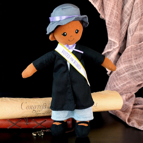 12-inch Suffragist Medium Skinned Doll