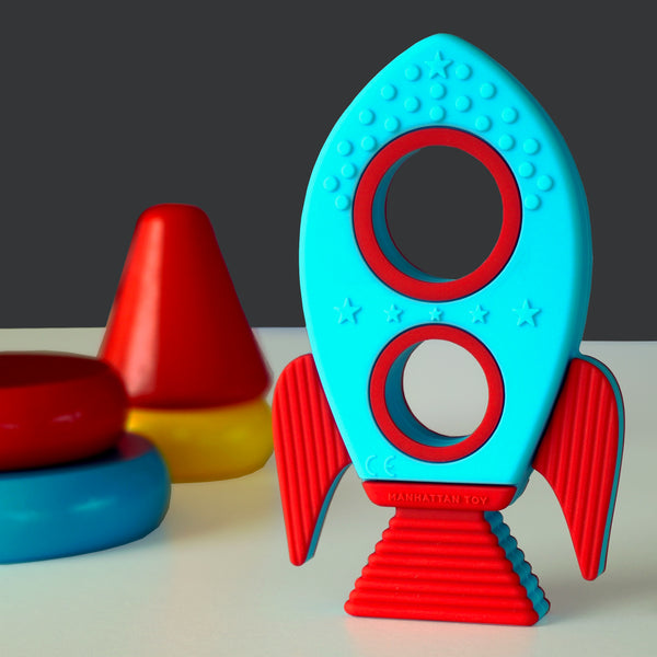 Silicone Rocket Teether