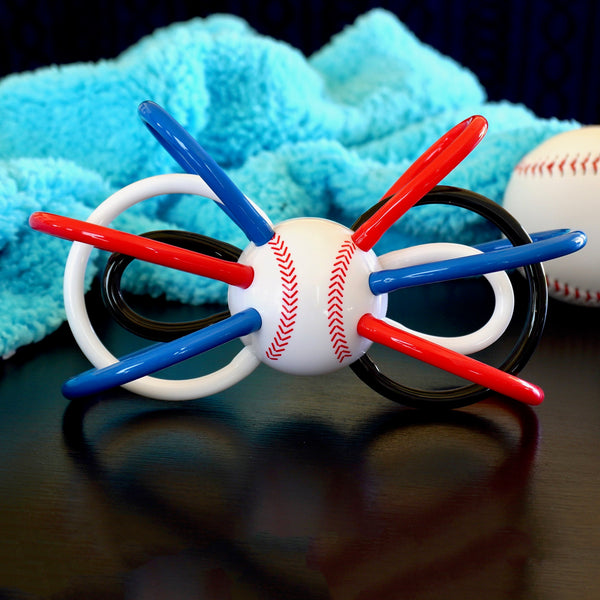 Baseball Winkel Teether