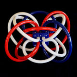 Red, White and Blue Winkel Teether
