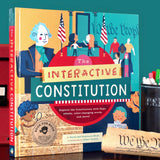 The Interactive Constitution: Explore the Constitution with flaps, wheels, color-changing words, and more!
