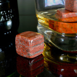 Red Jasper Whisky Stones Set