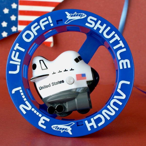 Space Shuttle Wheely Fun Wind-Up Toy
