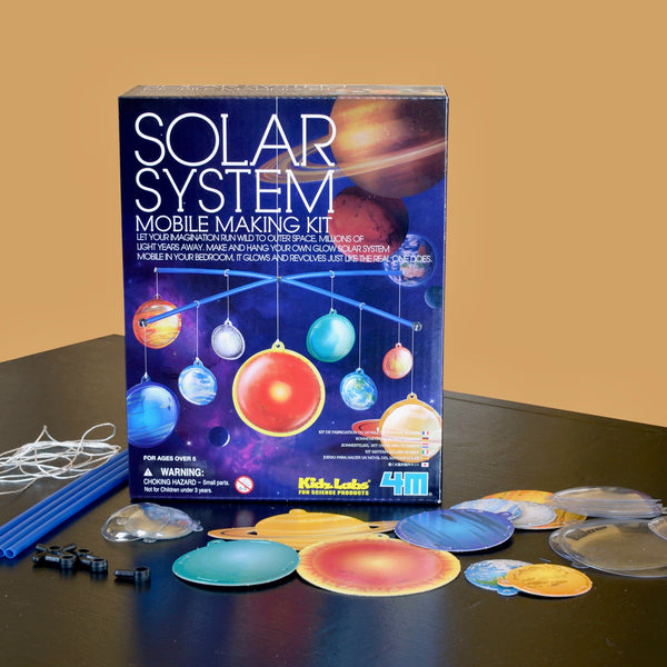 Glow-in-the-Dark Solar System Mobile Making Kit