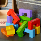12 Piece Building Block Playset