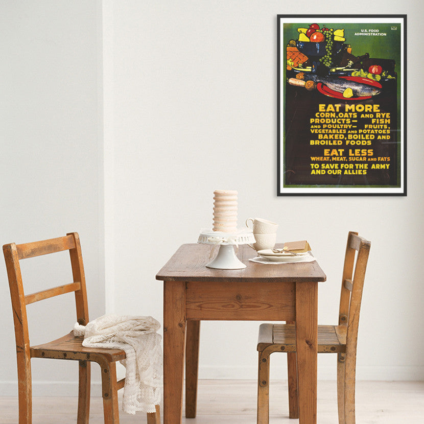 U.S.F.A. Eat More Poster