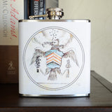 Vintage Seal 6oz Flask