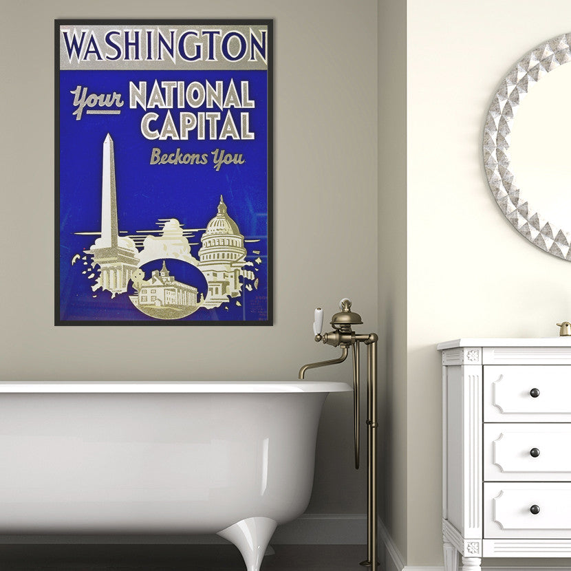 Washington Capital Poster