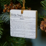 Constitution Tile Ornament