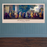 Declaration of Independence Mural Poster