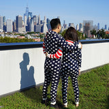 Stars and Stripes Patriotic Hooded Onesie