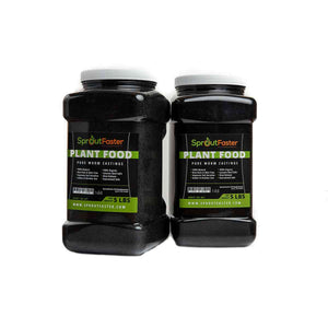 SproutFaster VermiMax - Black Earthworm Castings - 10 lbs