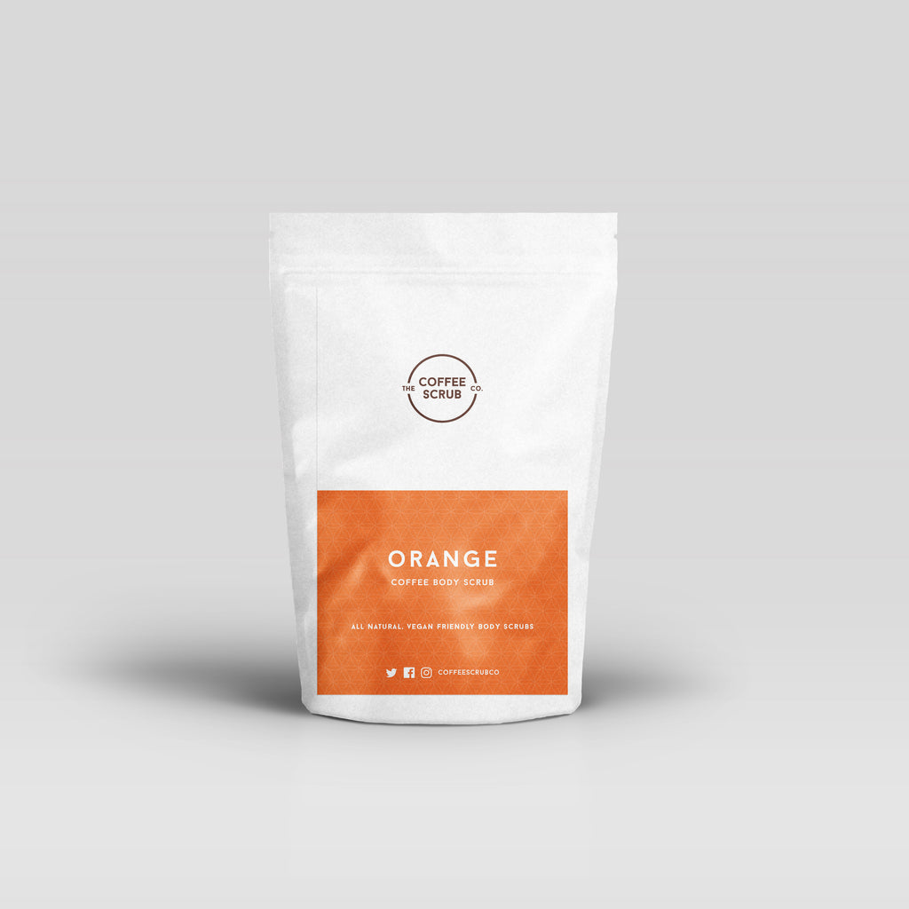 Orange Coffee Scrub - The Coffee Scrub Co