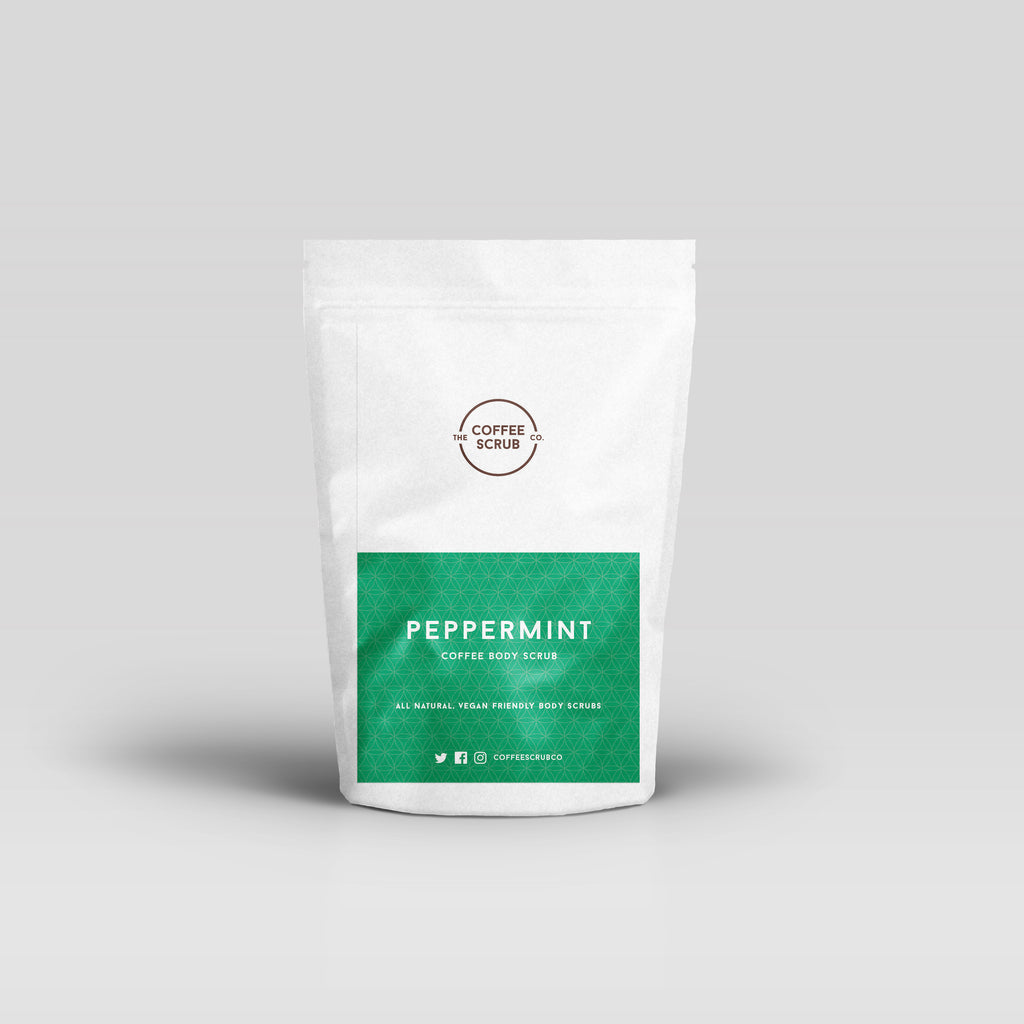 Peppermint Coffee Scrub - The Coffee Scrub Co