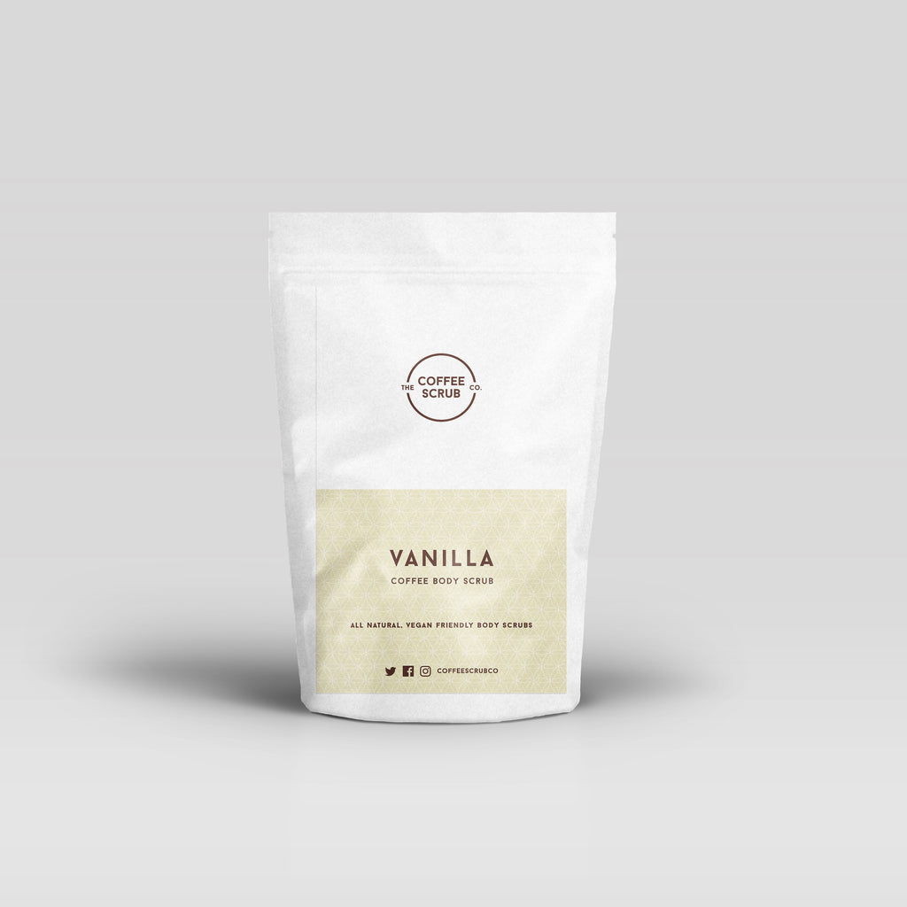 Vanilla Coffee Scrub - The Coffee Scrub Co