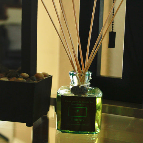 5oz reed diffuser in Cranberry