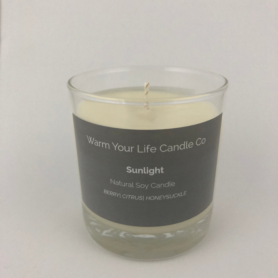 Sunlight Soy Candle