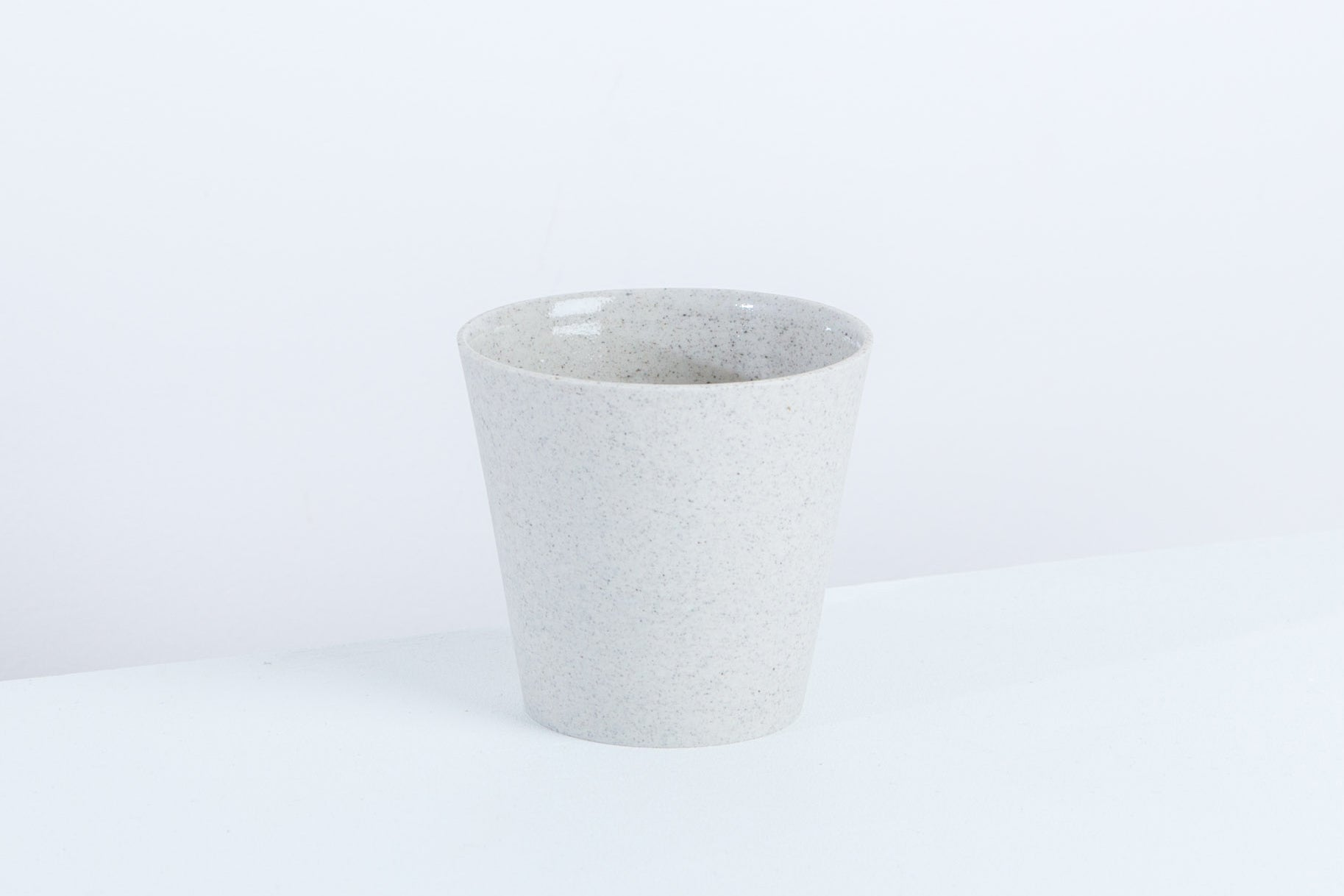 Granite-coloured cup