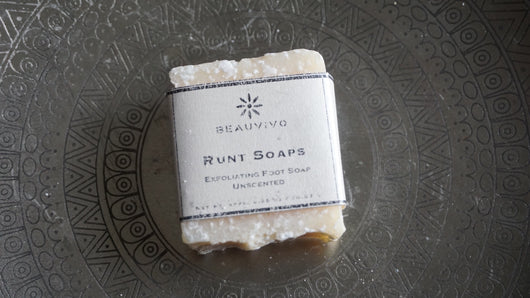 Cocus (Coconut) Exfoliating Mini Soap for Feet