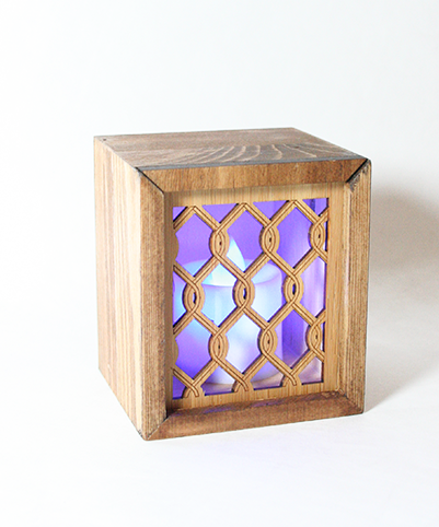 LED TEALIGHT BOX : Chain - Kiwi Collections