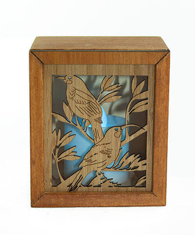 LED TEALIGHT BOX : Huia - Kiwi Collections