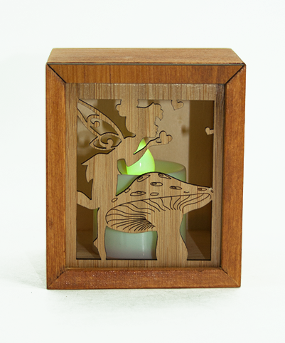 LED TEALIGHT BOX : Fairy - Kiwi Collections