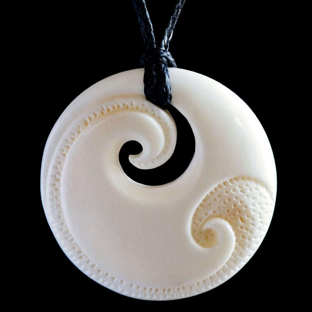 Engraved Koru - Kiwi Collections