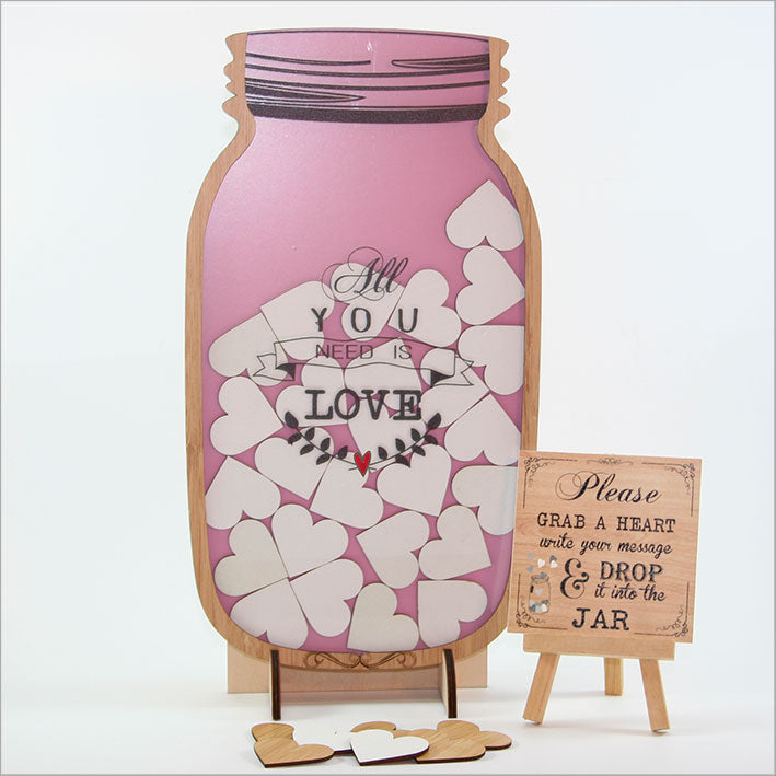 Momento Jar: All You Need Is Love - Kiwi Collections