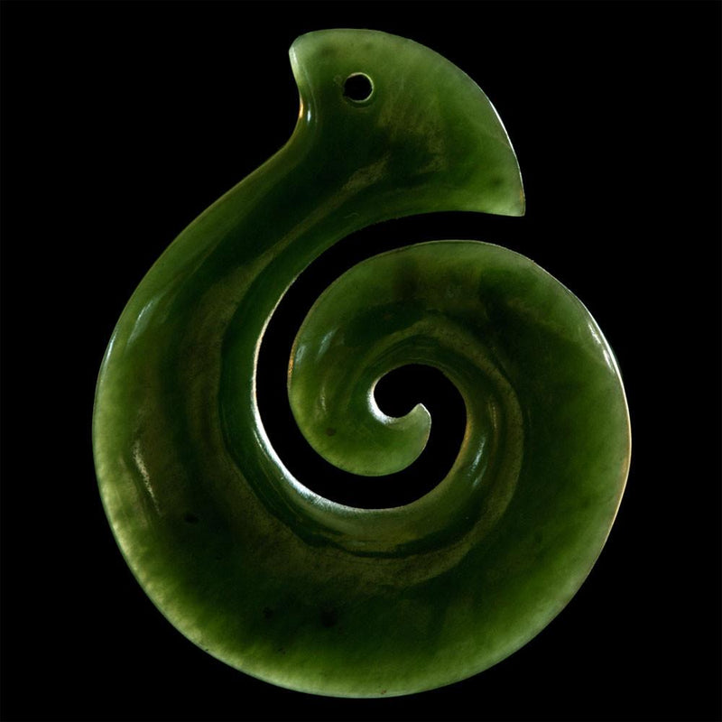 Small Jade Koru - Kiwi Collections