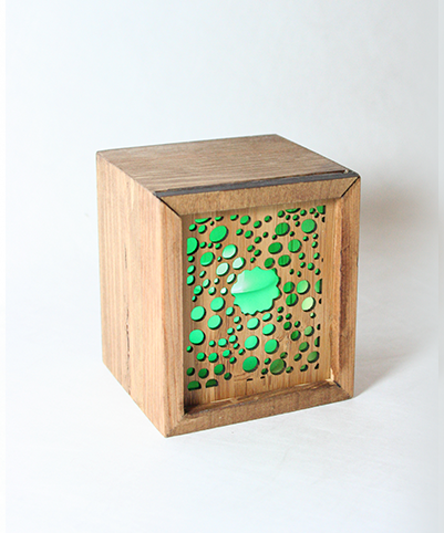LED TEALIGHT BOX : Kina - Kiwi Collections