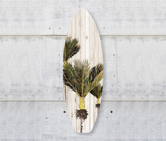 Plywood Surfboard Art : Nikau (Plank) - Kiwi Collections