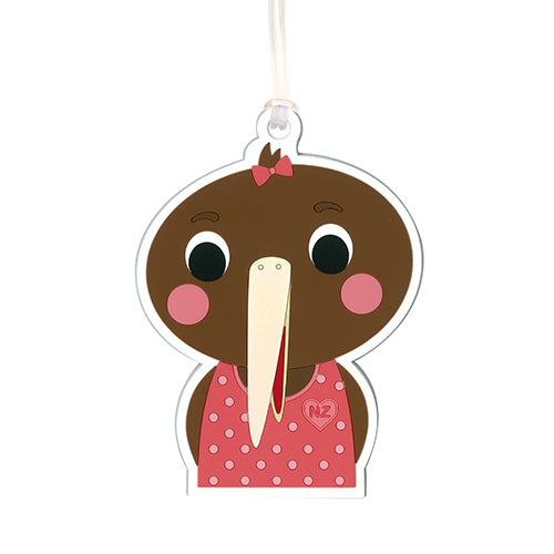 Bag Tag Kiwi Tots Girl - Kiwi Collections