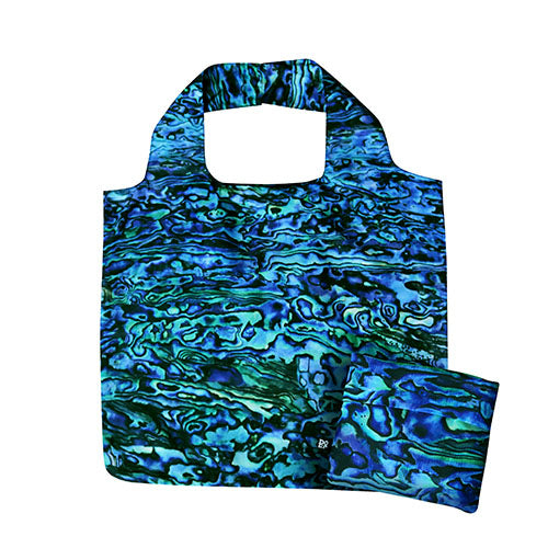 Fold Out Bag Pure Paua - Kiwi Collections