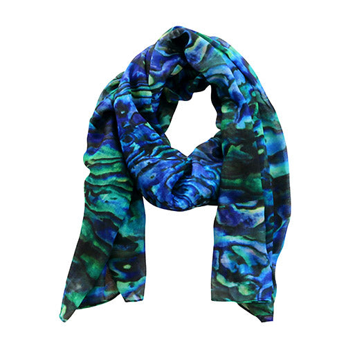 Scarf Pure Paua - Kiwi Collections