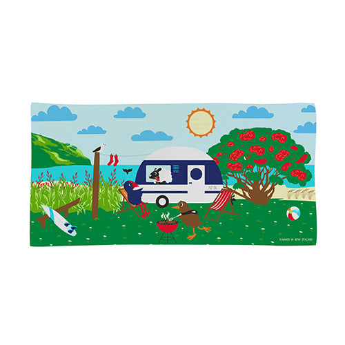 Beach Towel Going Places Summer - Kiwi Collections
