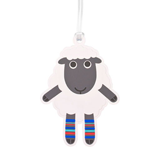 Bag Tag Dressed Up Sheep - Kiwi Collections