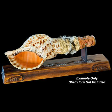 Carved Display Stand - Kiwi Collections