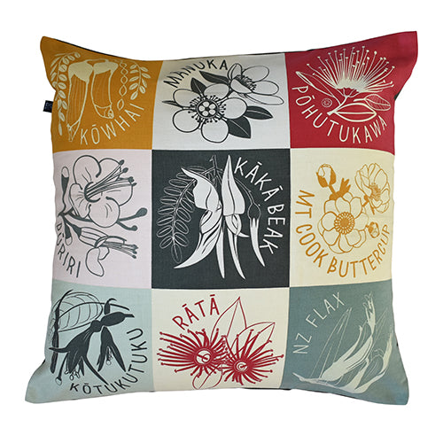 Cushion Cover NZ Flora - Kiwi Collections