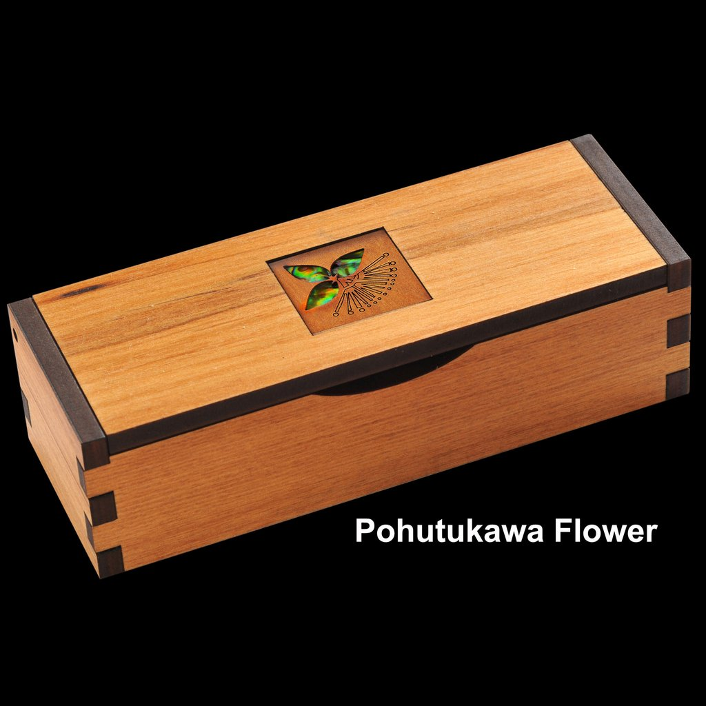 Hinged Gift Box (3 Inlay Patterns) - Kiwi Collections