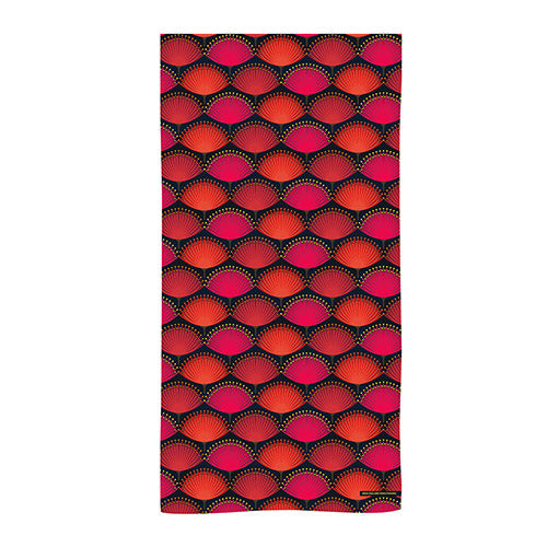 Beach Towel Pohutukawa Blaze - Kiwi Collections